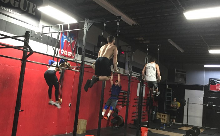 Competition class, Muscle ups, gymnastics